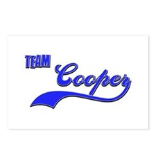 Team Cooper Postcards (Package of 8)