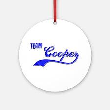 Team Cooper Ornament (Round)