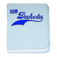 Team Dakota baby blanket