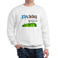 ziplines survivor 4.PNG Sweatshirt