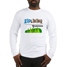 ziplines survivor 4.PNG Long Sleeve T-Shirt