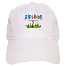 ziplines 3.PNG Baseball Cap