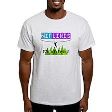 ziplines 2.PNG T-Shirt