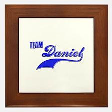 Team Daniel Framed Tile