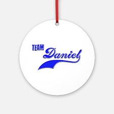 Team Daniel Ornament (Round)
