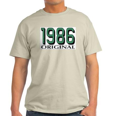 1986 Original Ash Grey T-Shirt