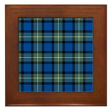 Tartan - Sinclair of Ulbster Framed Tile