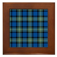 Tartan - Sinclair of Ulbster Framed Tile