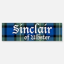 Tartan - Sinclair of Ulbster Bumper Bumper Sticker