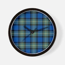 Tartan - Sinclair of Ulbster Wall Clock