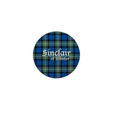 Tartan - Sinclair of Ulbster Mini Button