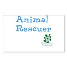 Animal Rescuer Decal