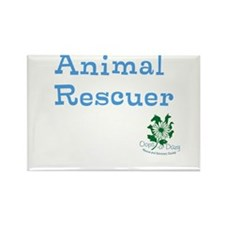 Animal Rescuer Rectangle Magnet (10 pack)