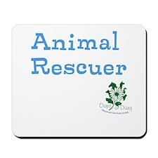 Animal Rescuer Mousepad