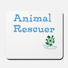 Animal Rescuer Mousepad