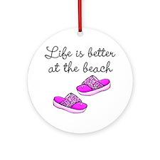 BEACH BABE Ornament (Round)