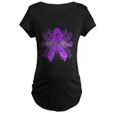 Pancreatic Cancer Flourish T-Shirt