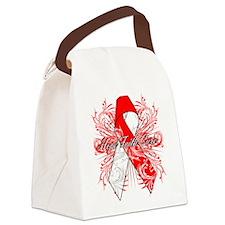 Oral Cancer Flourish Canvas Lunch Bag