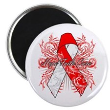 Oral Cancer Flourish Magnet