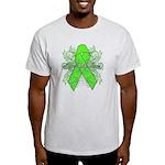 Non-Hodgkin Lymphoma Flourish Light T-Shirt