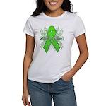 Non-Hodgkin Lymphoma Flourish Women's T-Shirt