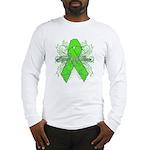Non-Hodgkin Lymphoma Flourish Long Sleeve T-Shirt