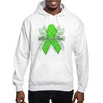Non-Hodgkin Lymphoma Flourish Hooded Sweatshirt