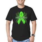 Non-Hodgkin Lymphoma Flourish Men's Fitted T-Shirt