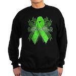 Non-Hodgkin Lymphoma Flourish Sweatshirt (dark)