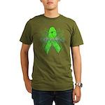Non-Hodgkin Lymphoma Flourish Organic Men's T-Shir