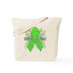 Non-Hodgkin Lymphoma Flourish Tote Bag