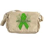Non-Hodgkin Lymphoma Flourish Messenger Bag