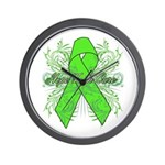 Non-Hodgkin Lymphoma Flourish Wall Clock
