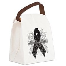 Melanoma Flourish Canvas Lunch Bag