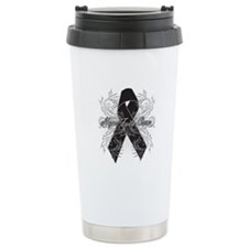 Melanoma Flourish Travel Mug