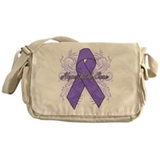 Hodgkins Lymphoma Flourish Messenger Bag