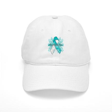 Cervical Cancer Flourish Cap