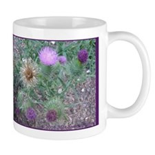 Thistles in various stages Mug
