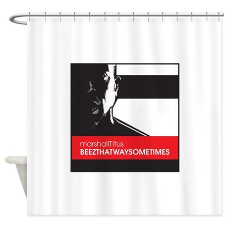 Marshall BeezWay Shower Curtain By JSBDesignerTees