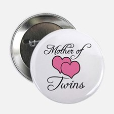 Mother of Twins Button