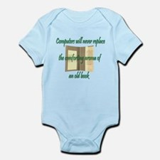 Old Books Infant Bodysuit