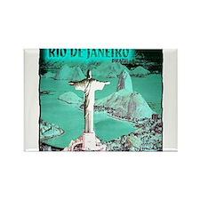 Rio de Janeiro brazil art illustration Rectangle M