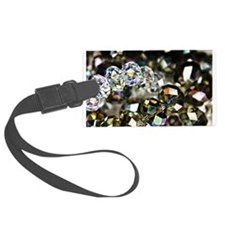 Sparkling Beads Luggage Tag