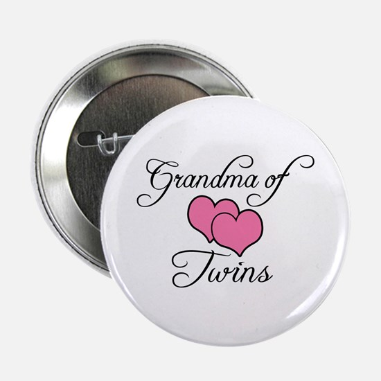 Grandma of Twins Button