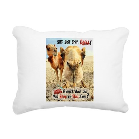 where have you been.png Rectangular Canvas Pillow