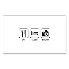 Eat Sleep Shoot Decal