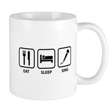 Eat Sleep Sing Mug