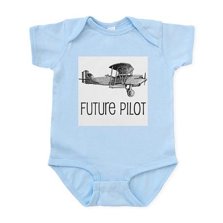 Future Pilot Infant Creeper