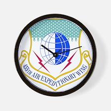 USAF 455th Air Expeditionary Wing Wall Clock