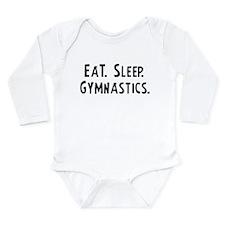 Eat, Sleep, Gymnastics Infant Creeper Body Suit